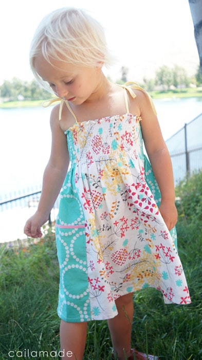 Summer Whimsy Sundress Tutorial by Caila Made for Melly Sews (30) Days of Sundresses