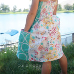 Caila Made Summer Whimsy Sundress Tutorial for Melly Sews (30) Days of Sundresses