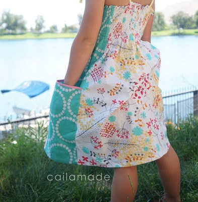 Sundress Series – Summer Whimsy Sundress Tutorial by Caila Made