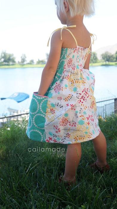 Caila Made Summer Whimsy Sundress Tutorial for Melly Sews (30) Days of Sundresses