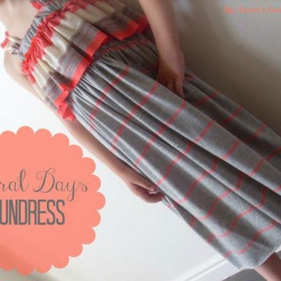 Sundress Series – Coral Days Sundress Tutorial by Sumo's Sweet Stuff