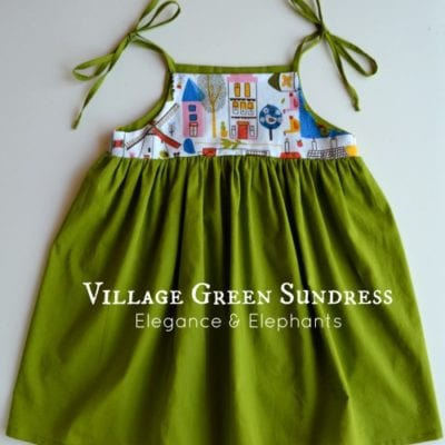 Sundress Series – Village Green Sundress Tutorial by Elegance and Elephants