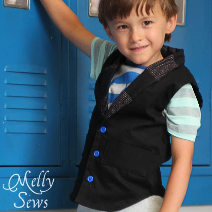 BBC Vest from the Alphabet Collection PDF Sewing Patterns by Pattern Anthology