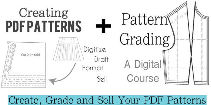Creating PDF Patterns + Pattern Grading - a Digital Course by Melly Sews