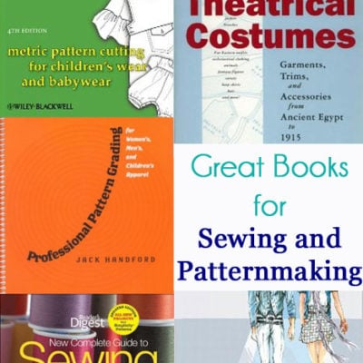 5+ Great Books for Sewing and Patternmaking