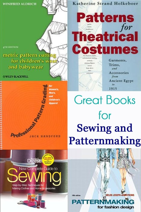 Books for Sewing and Patternmaking
