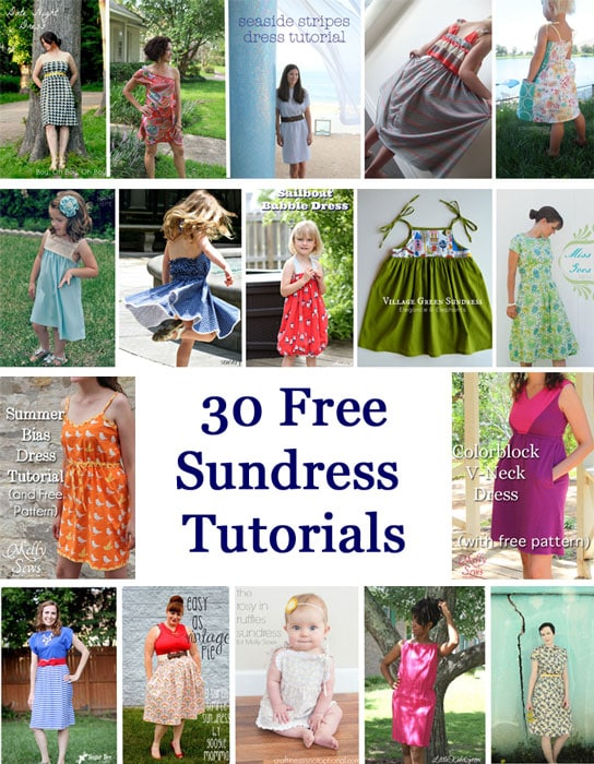 30 DIY Sundress Tutorials - Melly Sews