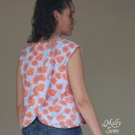 Crossback Top – Free Pattern