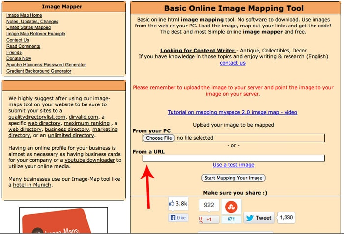 How to Make Image Maps - tech tip by Melly Sews