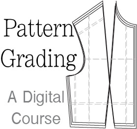 Pattern Grading - a Digital Course to learn how to grade patterns by Melly Sews