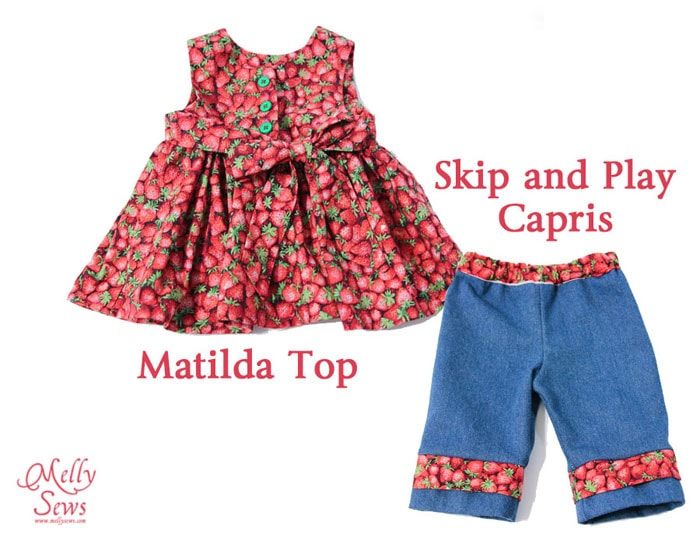 Cottage Mama patterns sewn by Melly Sews