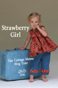 Cottage Mama Miss Matilda Top sewn by Melly Sews