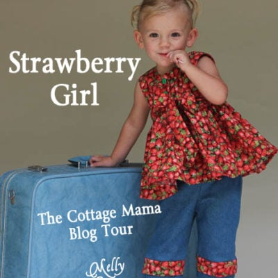 Cottage Mama Blog Tour – Miss Matilda Top