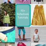 10 Refashion Tutorials