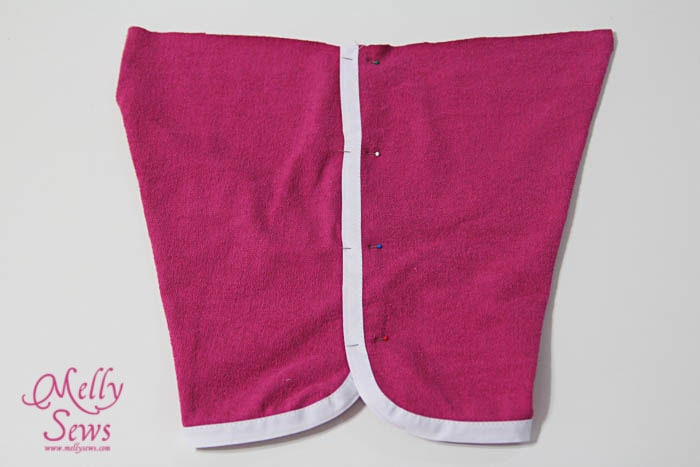 Bias shorts step 5