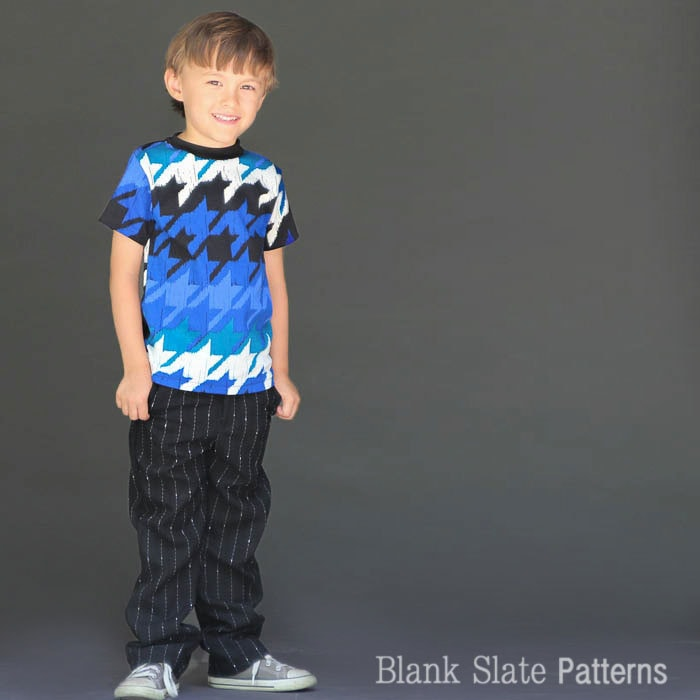 Regular version of Tee Times Three PDF Sewing Pattern by Blank Slate Patterns