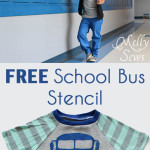 The Alphabet Collection Goes to School – with free stencil