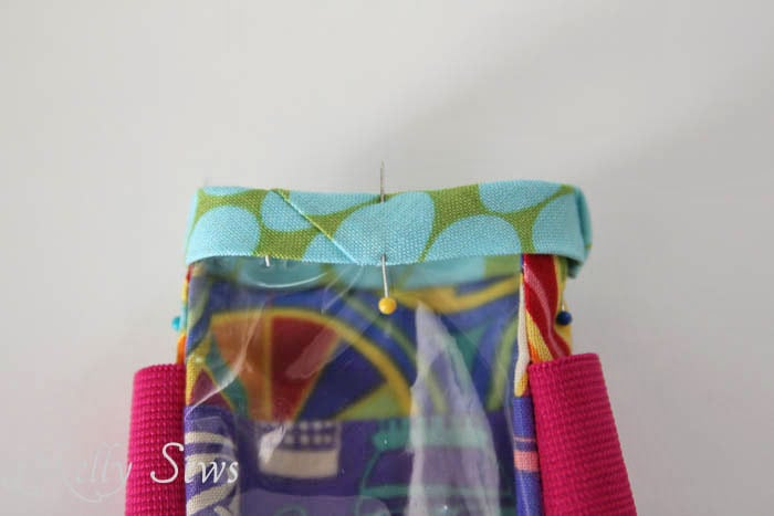 Step 7 DIY armband for touchscreen devices - a tutorial by Melly Sews