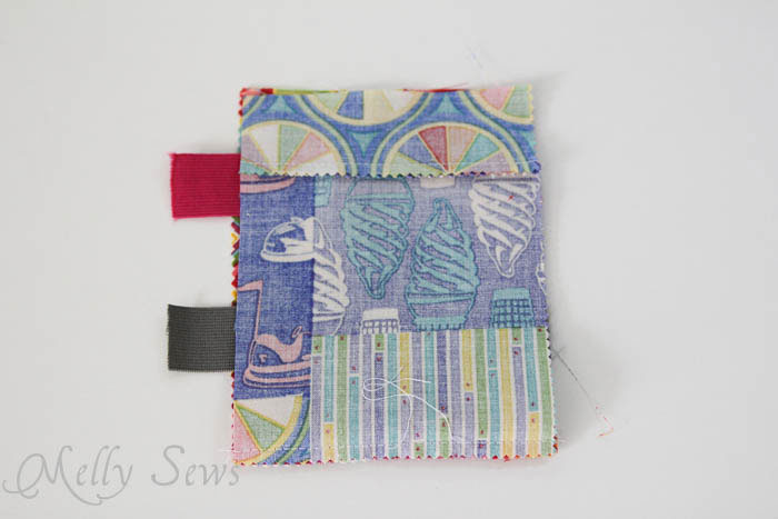 Step 2 DIY armband for touchscreen devices - a tutorial by Melly Sews