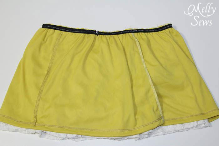 Step 5 - Lace Shirt Refashion Tutorial - Melly Sews