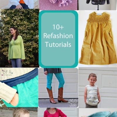 10 Refashion Tutorials for Women