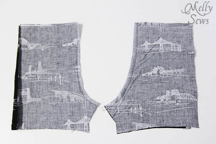 Step 5 Baby Boy Romper by Melly Sews with Free Pattern