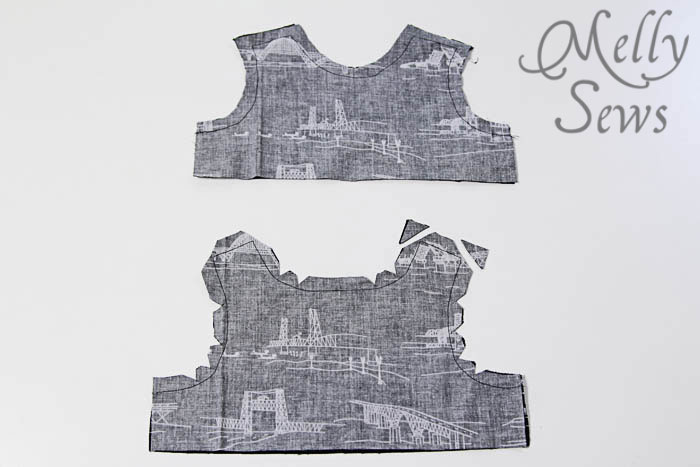 Step 1 Baby Boy Romper by Melly Sews with Free Pattern