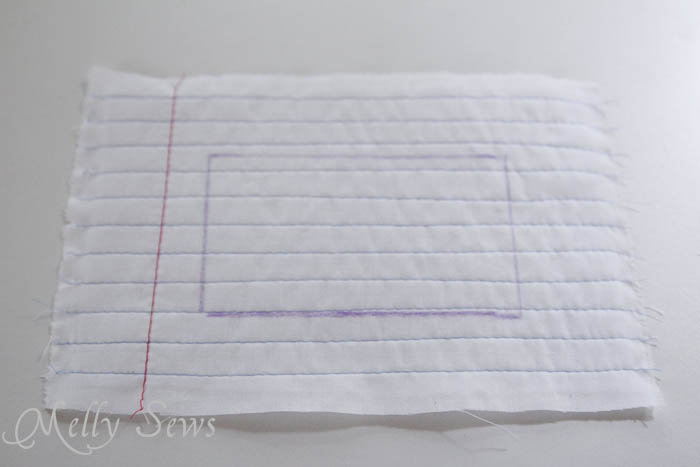 Step 5 Notebook paper zipper pouch tutorial