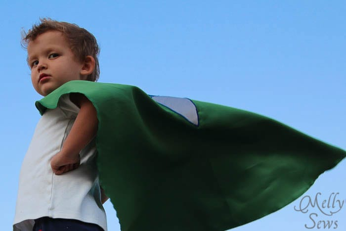 Defender of Freedom everywhere - Superhero Cape by Melly Sews