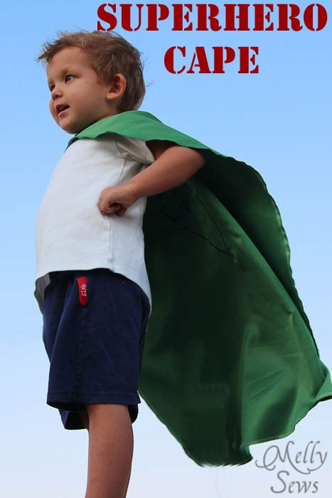 Superhero Cape by Melly Sews