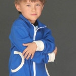 Close Up of Zippy Jacket Boys or Girls PDF Sewing Pattern by Blank Slate Patterns