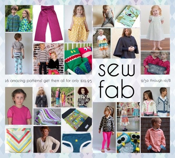 Sew Fab Bundle Fall 2013 - Including Blank Slate Patterns