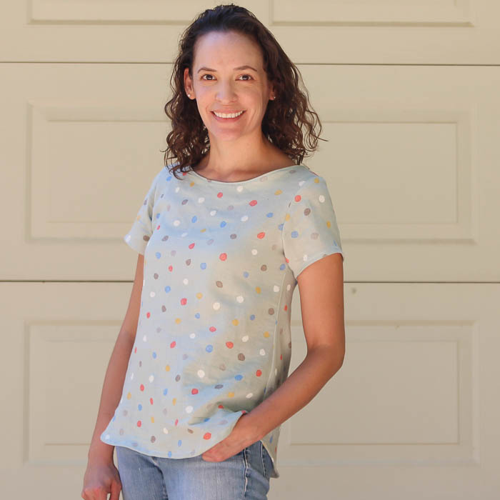 Add this to my must make list Women's Boatneck Shirt Tutorial with free pattern (for a limited time) - Melly Sews https://mellysews.com
