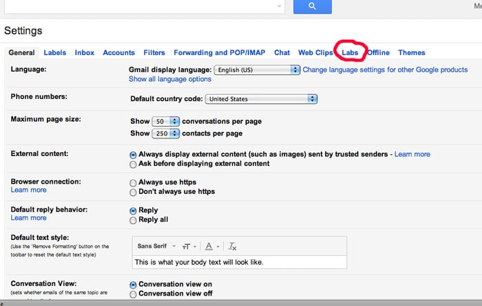 Step 2 - How to Use Gmail Canned Responses