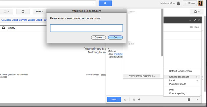Step 5 - How to Use Gmail Canned Responses