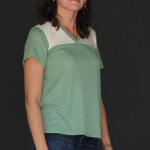 Everyday wear version of Football Jersey Tutorial with Free Pattern by Melly Sews