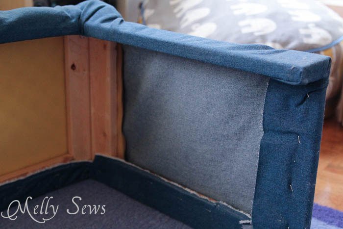 Project Redecorate How To Make A Hearth Guard Melly Sews
