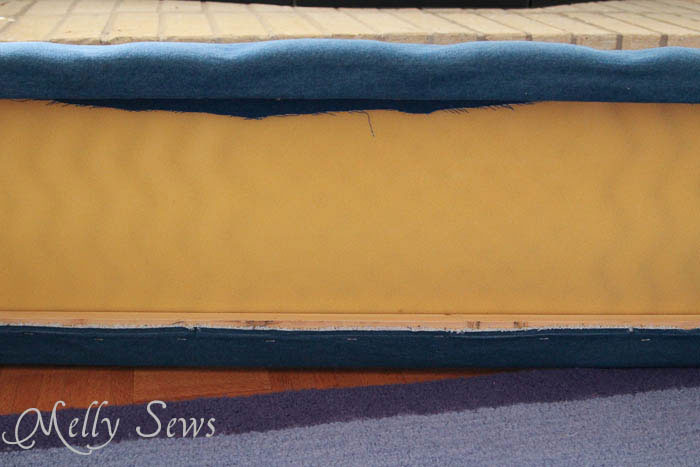 Back view of Hearth Guard Tutorial - Melly Sews