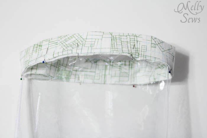 Step 6 - Toy Storage Bucket Tutorial - Melly Sews