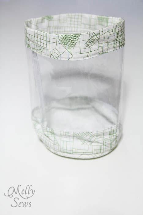 Step 7 - Toy Storage Bucket Tutorial - Melly Sews