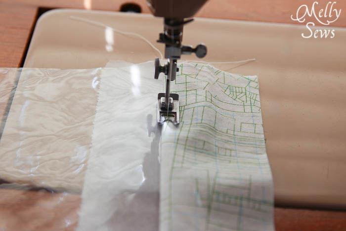 Sewing Vinyl - Toy Storage Bucket Tutorial - Melly Sews