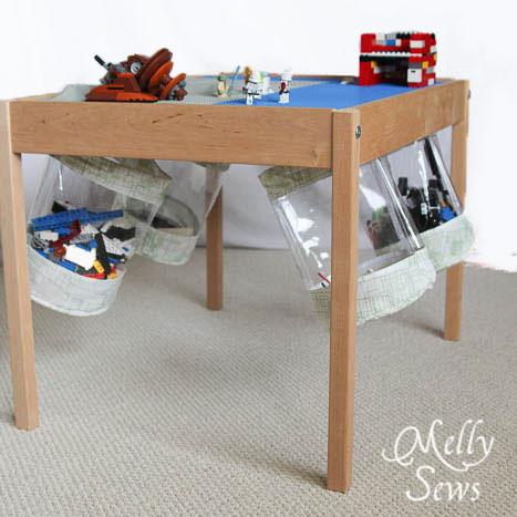 Under Table Toy Storage Bucket Tutorial Melly Sews