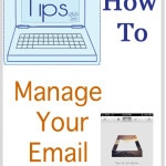 Tech Tips - How to Manage Your Email - Melly Sews