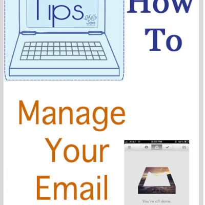 Tech Tips – Manage Email