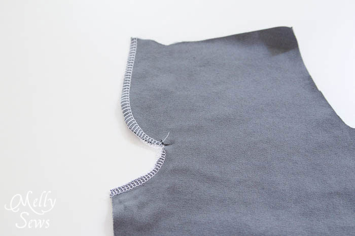 Step 1 - How to Sew a Mock Fly Tutorial