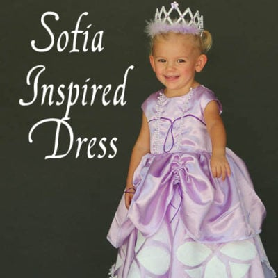 Inspired by Princess Sofia the First – Dress Tutorial