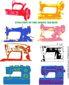 Evolution of the Sewing Machine - Melly Sews