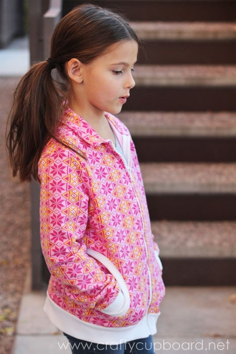 Zippy Jacket - Pattern by Blank Slate Patterns, sewn by The Crafty Cupboard