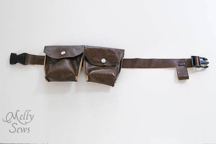 Make this - Luke Skywalker Belt Tutorial - Melly Sews #sewing #Halloween #kids #diy