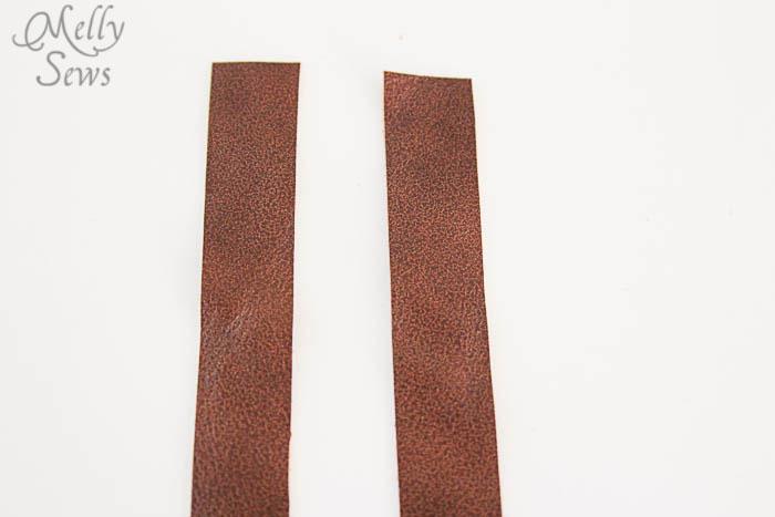 Step 1 Luke Skywalker Belt Tutorial - Melly Sews #sewing #Halloween #kids #diy